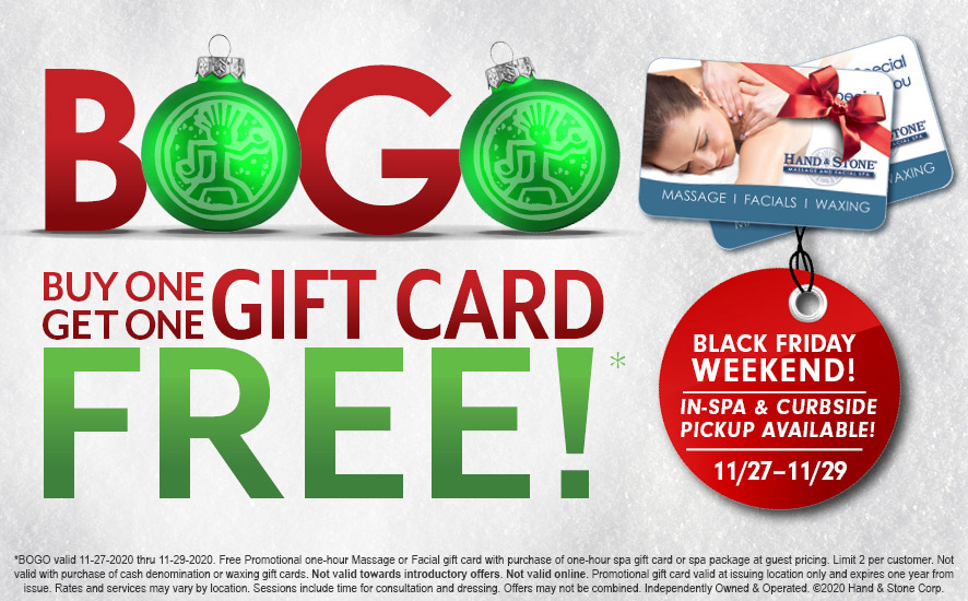 BOGO - Buy One Get One Free! Gift Card